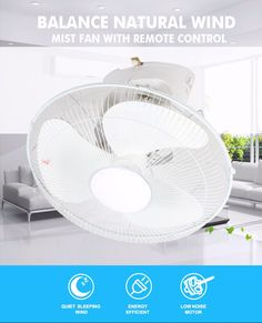 Wholesale custom 16'' wall mounted fans with three kinds of color choice