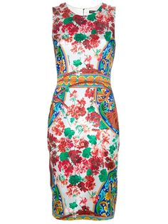 Dolce and Gabbana Floral Print Dress