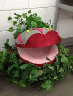 #7 - Little Shop of Horrors toilet seat wreath