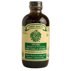 Get the finest Nielsen-Massey Organic Madagascar Vanilla Extract from Chef Shop. Nielsen-Massey uses an exclusive cold process to extract maximum flavor. Chef Shop, 4 Oz Bottle, Madagascar Vanilla, 6 Pack, Fancy Cakes, Baking Ingredients, Bourbon, Gourmet Recipes, Whiskey Bottle