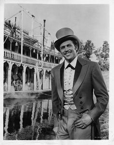 "Howard Keel in Show Boat  The Song ""Old Man River"" is awesome!   Sad film with a sad entertainment culture presented."