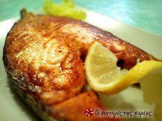 Σολομός ψητός στο γκριλ Greek Cooking, Fish And Seafood, Biscotti, Baked Potato, Cucumber, Food Processor Recipes, French Toast, Food And Drink, Tasty