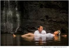 Resultado de imagem para ensaio de noiva cachoeira