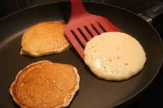 Cook batter until it turns all bubbly | Easy Homemade Pancake Recipe You'll Love | https://homemaderecipes.com/homemade-pancake-recipe/