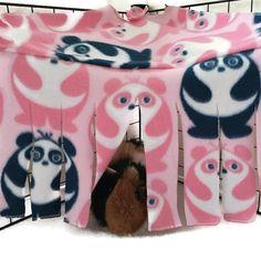 Repaire de Panda cochon d'Inde, cobaye tente, repaire de coin, Rideau coin, cachette pour animaux de compagnie, polaire forêt, cachant la tache, accessoire de cage polaire