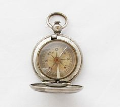 1900s Antique Hunter Compass by TheGentlemansBlade on Etsy