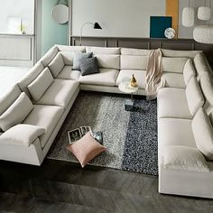 Build Your Own - Harmony Sectional Pieces - Extra Deep #westelm