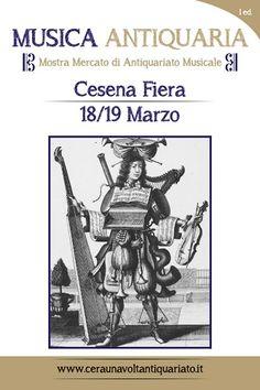 Musica Antiquaria: 18 e 19 marzo 2017 a Cesena Fiera