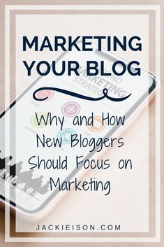 Marketing Your Blog: Why and How New Bloggers Should Focus on Marketing - Are you struggling to build your blog? Do you write daily posts, but don't have traffic. If so, you need to focus on marketing your blog.