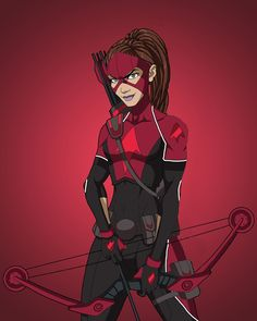 Arrowette/Thea Queen based on the amazing Artemis recolor by Original art by Phil Cho Arrowette (Thea Queen) Superhero Images, Superhero Design, Dc Comics Film, Marvel Dc Comics, Artemis, Young Justice Season 3, Dc Costumes, Anastasia Movie, Johnny Edlind