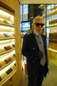The Parisian life: Karl Lagerfeld x Moynat | The Parisian Eye
