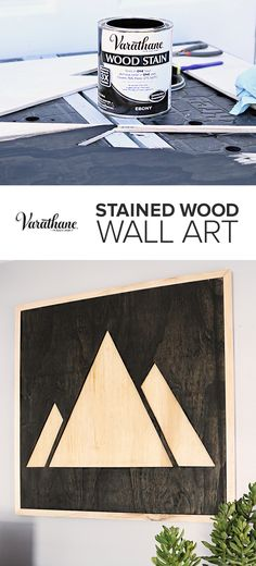 diy art Learn how to make custom wooden wall art with any design! I chose to create DIY mountain wood art of my project! Free how-to plans on ! Diy Wand, Metal Tree Wall Art, Wooden Wall Art, Wall Wood, Do It Yourself Furniture, Diy Furniture, Bedroom Furniture, Diy Wood Projects, Woodworking Projects