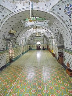 Inside the Star Mosque, Old Dhaka