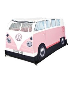 Love this Pink Volkswagen Play Tent by The Monster Factory on #zulily! #zulilyfinds