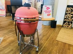 Kamado PINK - Limited Edition Kamado Grill, Charcoal Grill, Grilling, Outdoor Decor, Pink, Home Decor, Wood Burner, Fireplace Heater, Sweden
