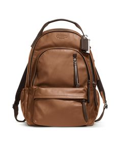 #Coach Thompson Leather Backpack ^_^ @Scout Sixteen #Want