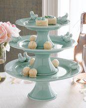 Bluebird Cake Stand