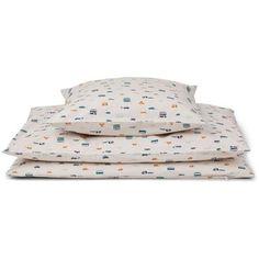 Sengesett fra Liewood. Settee, Baby Car, Printer, Bed Pillows, Pillow Cases, Home, Pram Sets, Pillows, Sofa
