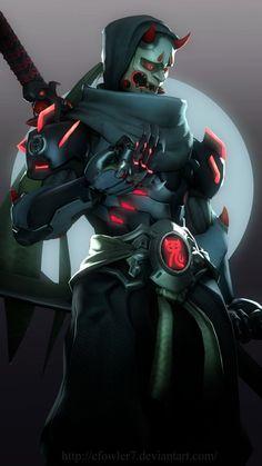 Overwatch - Oni Genji by cfowler7