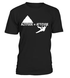 """# Altitude Equals Attitude Rock Climbing T-Shirt .  Special Offer, not available in shops      Comes in a variety of styles and colours      Buy yours now before it is too late!      Secured payment via Visa / Mastercard / Amex / PayPal      How to place an order            Choose the model from the drop-down menu      Click on """"Buy it now""""      Choose the size and the quantity      Add your delivery address and bank details      And that's it!      Tags: Rock Climber Shirts make great…"""