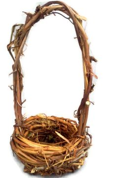 Grapevine Basket small grapevine basket flower by colonialcrafts, $11.00