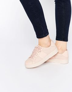 Image 1 of ASOS DREW Lace Up Sneakers