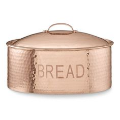 Williams Sonoma offers great copper gifts for him and her. When celebrating a wedding anniversary, a copper gift from Williams Sonoma is the perfect way to celebrate. Williams Sonoma, Bread Bin, Bread Boxes, Kitchen Utensils, Kitchen Storage, Food Storage, Kitchen Organization, Kitchen Ware, Kitchen Gadgets