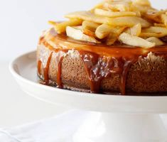 Caramel Apple Cheesecake - Go Bold With Butter