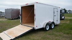 awesome 7x12 Enclosed Cargo Trailer Tandem Motorcycle Utility Dual Landscape CALL NOW !! Check more at http://harmonisproduction.com/7x12-enclosed-cargo-trailer-tandem-motorcycle-utility-dual-landscape-call-now/