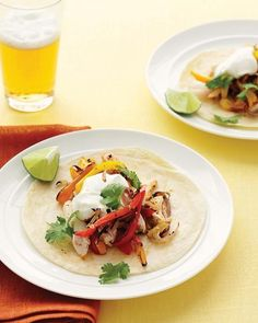Fast Chicken Fajitas Recipe
