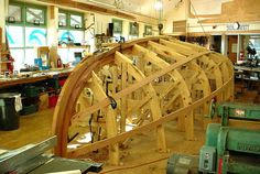 "Building the Catboat ""Silent Maid"" .  Complete Backbone & Mold"