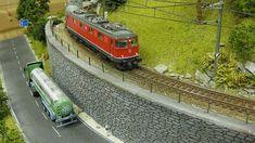 Unteres Appenfluher Tal - (Gleisplan S. 46 unten - Videos Seite 48, 56 63) *03.05.2020 Lebenszeichen!!!! - Stummis Modellbahnforum Model Train Layouts, N Scale, Model Trains, Planer, Model Building, Pictures