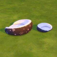 The Sims 4 Mody: Legowisko dla psów i kotów od Sevthe