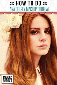 Celebrity Makeup: Lana Del Rey | How To Do a Step by Step Flawless and Dramatic Look. Beauty Tips and Tricks. By Makeup Tutorials http://makeuptutorials.com/lana-del-rey-makeup-tutorial/