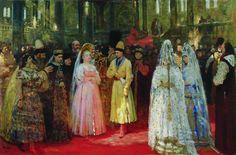 И.Е. Репин Выбор великокняжеской невесты-choice of the bride