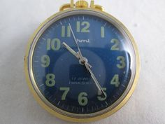 100% GENUINE VINTAGE RARE DIAL HMT POCKET WATCH WITH LUME FIGURES UNISEX USE