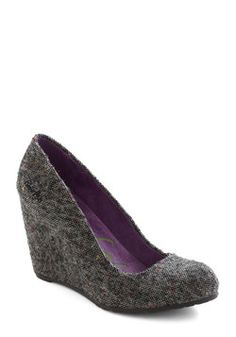 After School Speckled Wedge, #ModCloth    //Yes, yes, holy crap, yes!