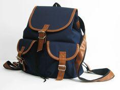 b64c95970894c Rucksäcke - Vintage-Rucksack - ein Designerstück von BeMine-Bags bei DaWanda