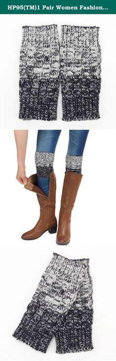 """HP95(TM)1 Pair Women Fashion Stretch Boot Leg Cuffs Adult Socks (Gray). Description Material:Acrylic fibres Color:Beige,Blue,Dark Gray,Gray Length:18cm/7.08""""(The manual measurement may be a little error) For Adult wear Soft and comfortable Package:1Pair socks Our leg warmers are any boot's best friend. We love them with rain or ankle-length boots. You can Pair them with tights, leggings, skirts, skinny jeans for a sweet cozy look. Care: Hand wash cold and lay flat to dry Package: 1Pair…"""