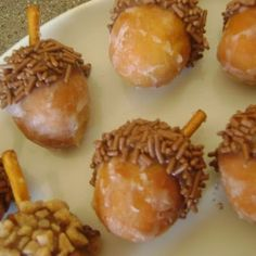 Acorns - cute for Thanksgiving or Halloween, or even first day of Fall