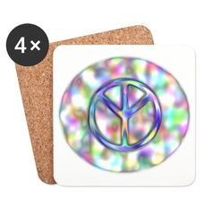 True Peace metallic Aura Peace, Metal, Musical Composition, Drink Coasters, Runes, World