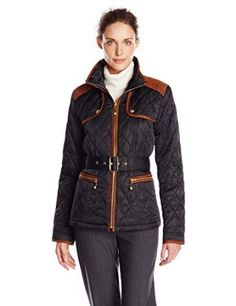 Vince Camuto Women's Quilted Barn Jacket from $24.99 by Amazon BESTSELLERS