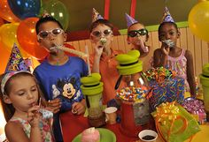Having your own Disney World Themed Birthday Party! | Chip and Co- Some cute ideas!