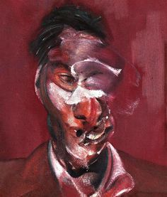FRANCIS BACON    Three studies for portrait of lucian freud 1965    Oil on canvas    Dimensions  35.5 x 30.5 cm (each)