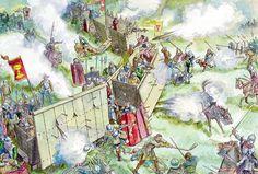 Hussite war wagon fort