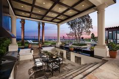Experience the luxuries of indoor/outdoor living so you can bring the entertainment outside!