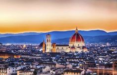 A visit to Florence is all about exploring its art-centric attractions. The Gothic-style Duomo protr... - (Getty Images)