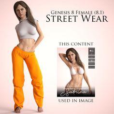 Street Wear, Female, Studio, Digital, How To Wear, Free, Fashion, Moda, Fashion Styles