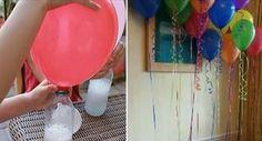 gonfiare palloncino con bicarbonato
