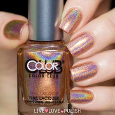 Color Club | Cosmic Fate  Halo Hues Collection $10 @ LiveLovePolish.com